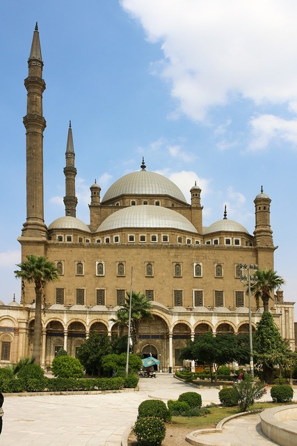 Mosque minaret cairo, architecture buildings.