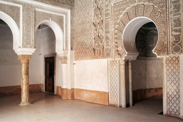 Mosque morocco marrakech, architecture buildings.