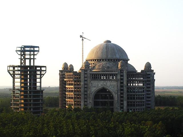 Mosque moslem architecture, architecture buildings.