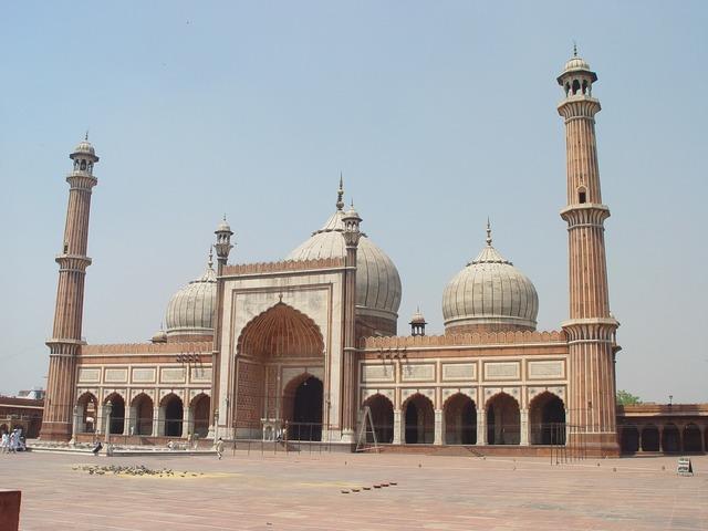 Mosque new delhi india.