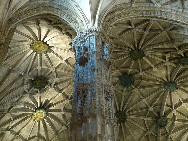 Mosteiro dos jerónimos jeronimo monastery vault, religion.