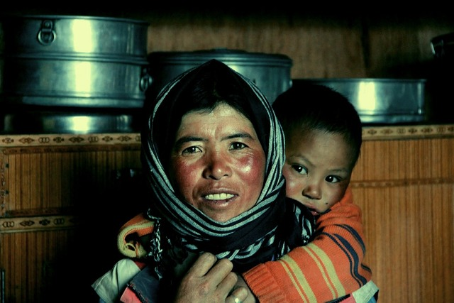 Mother ladakh india, people.