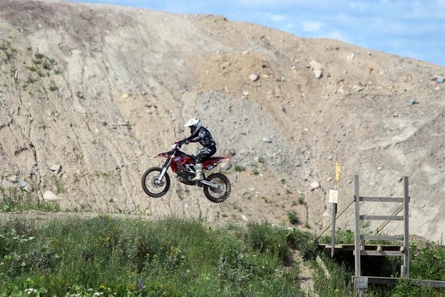Motocross offroad motorbike.