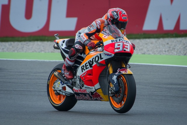 Motogp racing bike, sports.