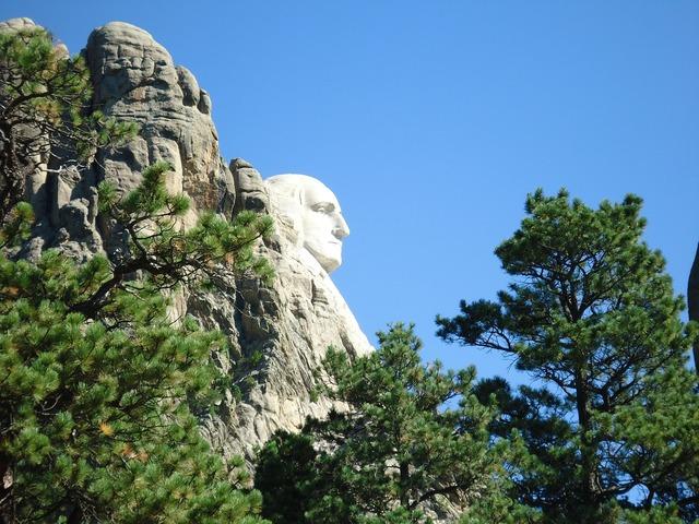 Mount rushmore george washington mount rushmore national monument.