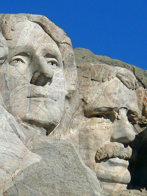 Mount rushmore national monument memorial.