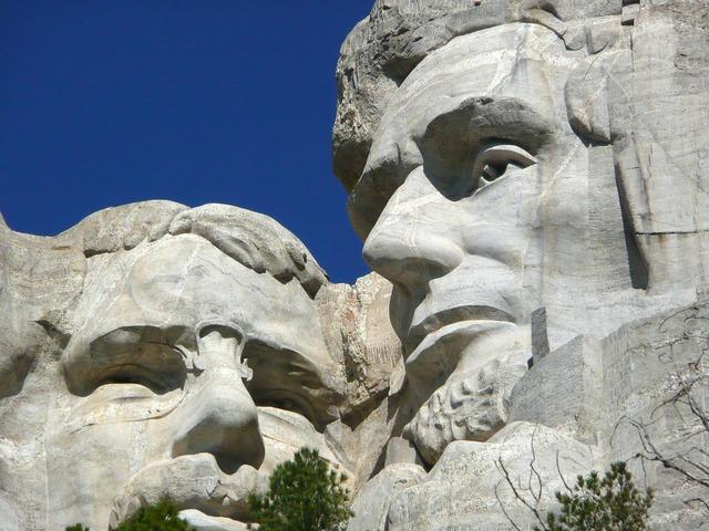 Mount rushmore national monument memorial south dakota.