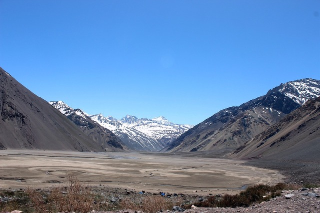 Mountain chile drawer, nature landscapes.