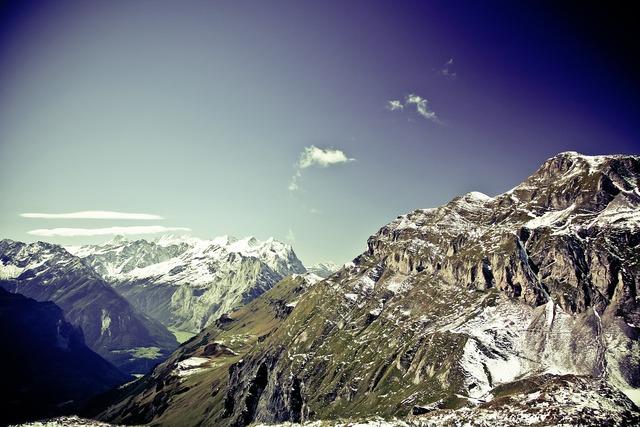 Mountain mountains alpine, nature landscapes.