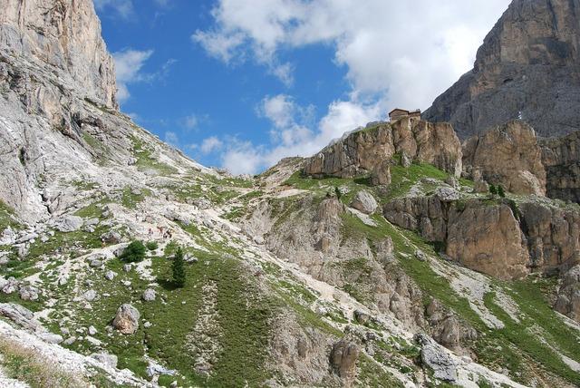 Mountain mountains dolomites, nature landscapes.