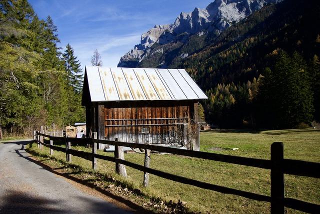 Mountains alpine alphabet.