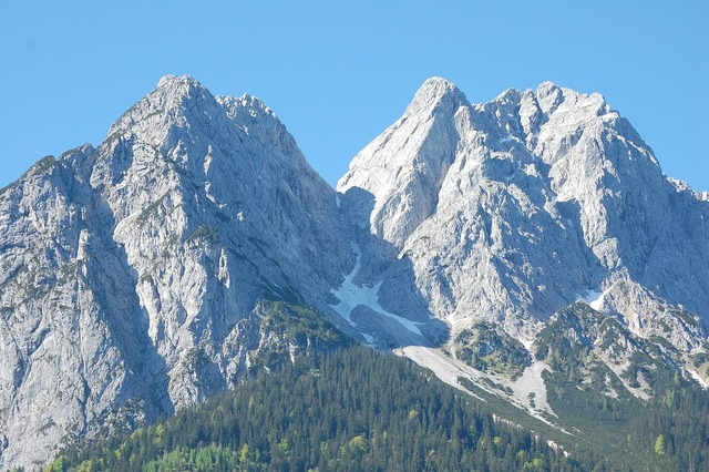 Mountains alpine waxenstein.