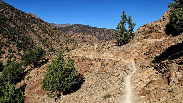 Mountains atlas morocco.