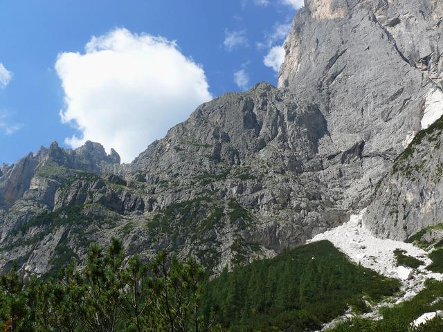 Mountains dolomites trentino.
