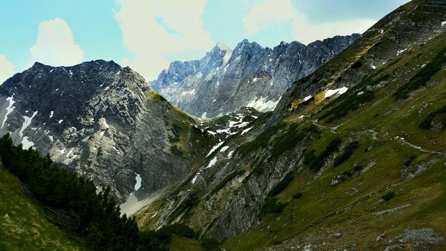 Mountains karwendel hiking.