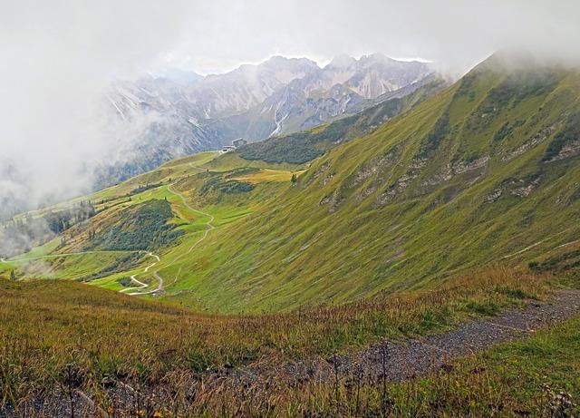 Mountains mountain landscape fog.