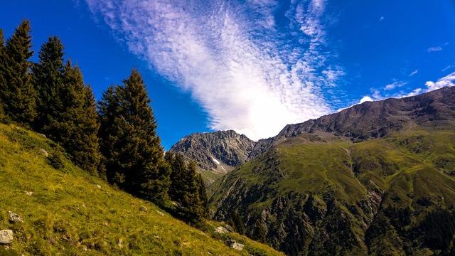 Mountains mountain panorama alpine.