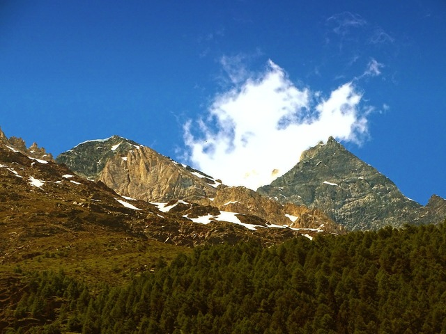 Mountains switzerland valais.