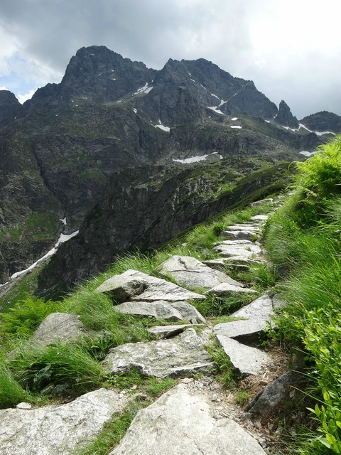Mountains tatry trail, travel vacation.