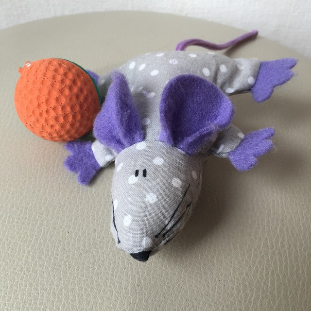 Mouse the ball toy, animals.