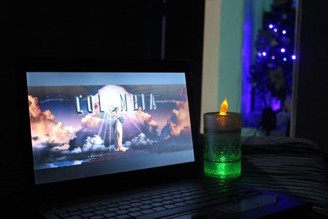 Movie christmas night candlelight.