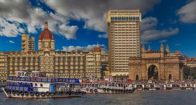 Mumbai gateway to india india, architecture buildings.
