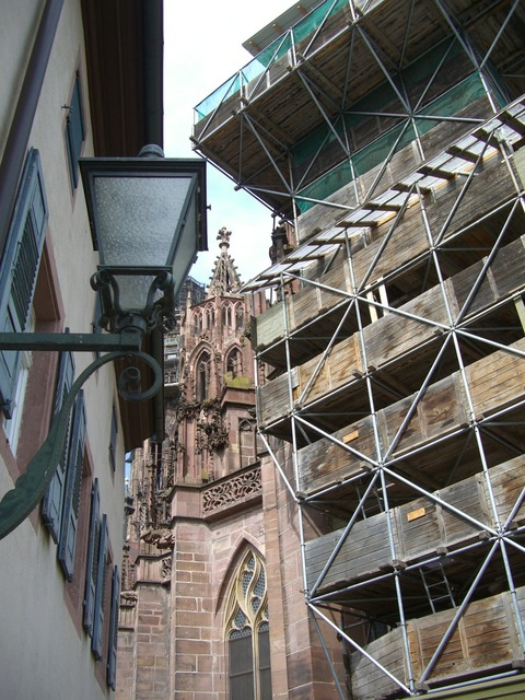 Münster freiburg integrated, architecture buildings.
