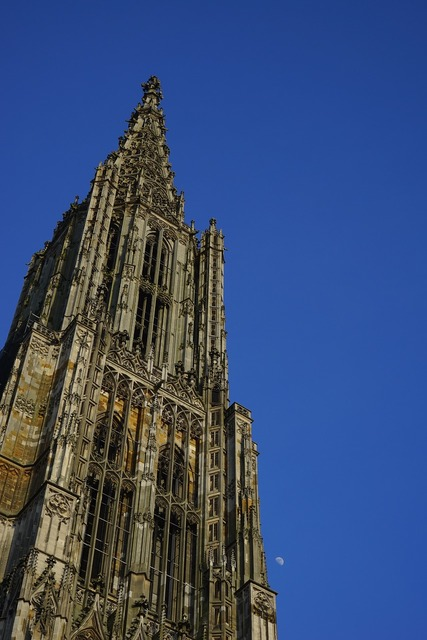 Münster ulm cathedral tower, religion.