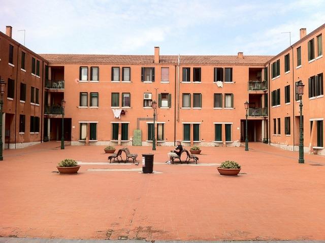 Murano home facade, architecture buildings.