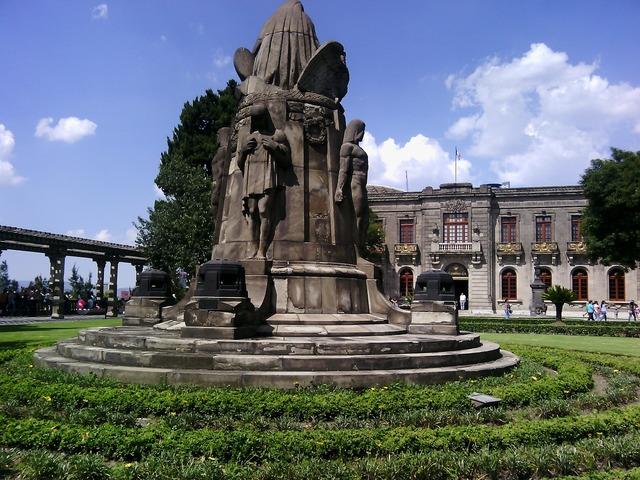 Museum chapultepec castle mexico, places monuments.