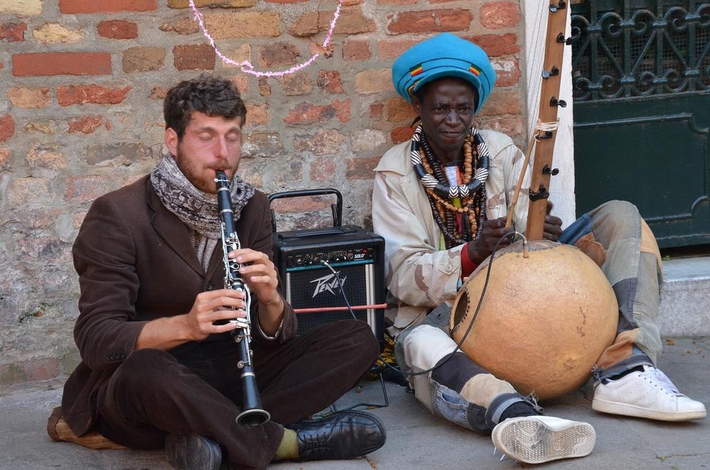 Music musicians street musicians, music.
