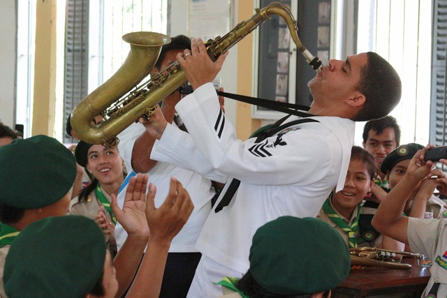 Musician saxophone performance, music.