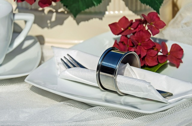 Napkin ring ring stainless steel.