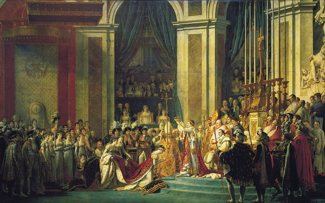 Napoleon coronation king.