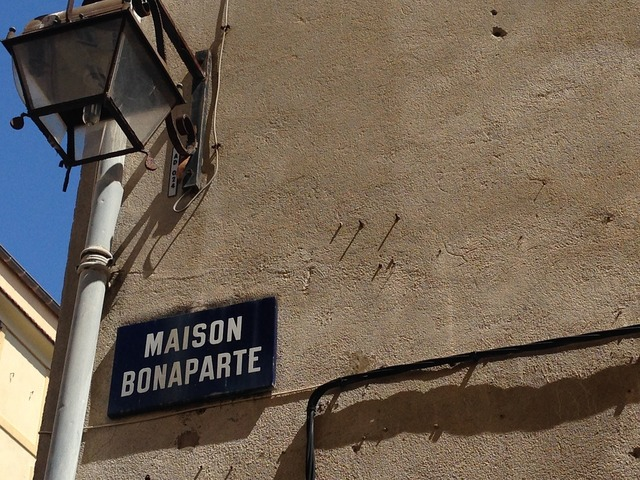 Napoleon home birthplace, architecture buildings.