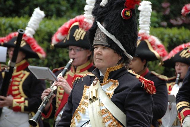 Napoleon procession folklore.