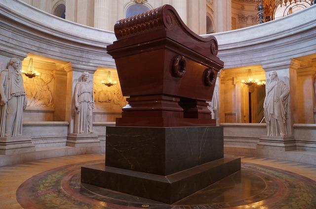 Napoleon sarcophagus tomb, architecture buildings.