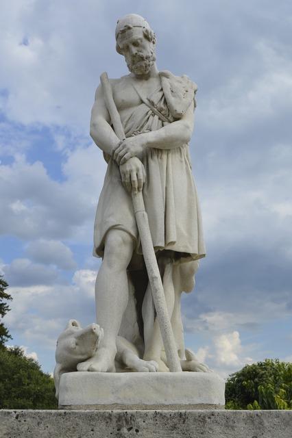 Napoleon statue sculpture.