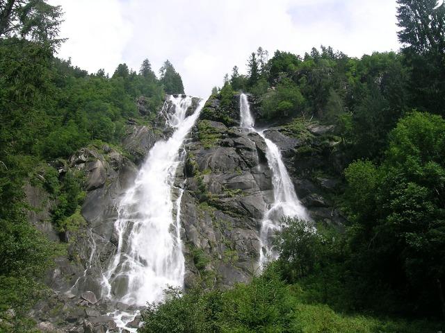 Nardis waterfalls italy trentino.