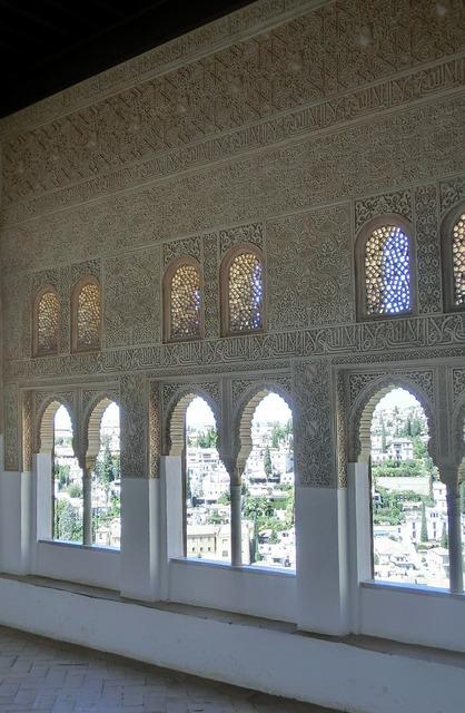 Nasridenpalast alhambra spain, architecture buildings.