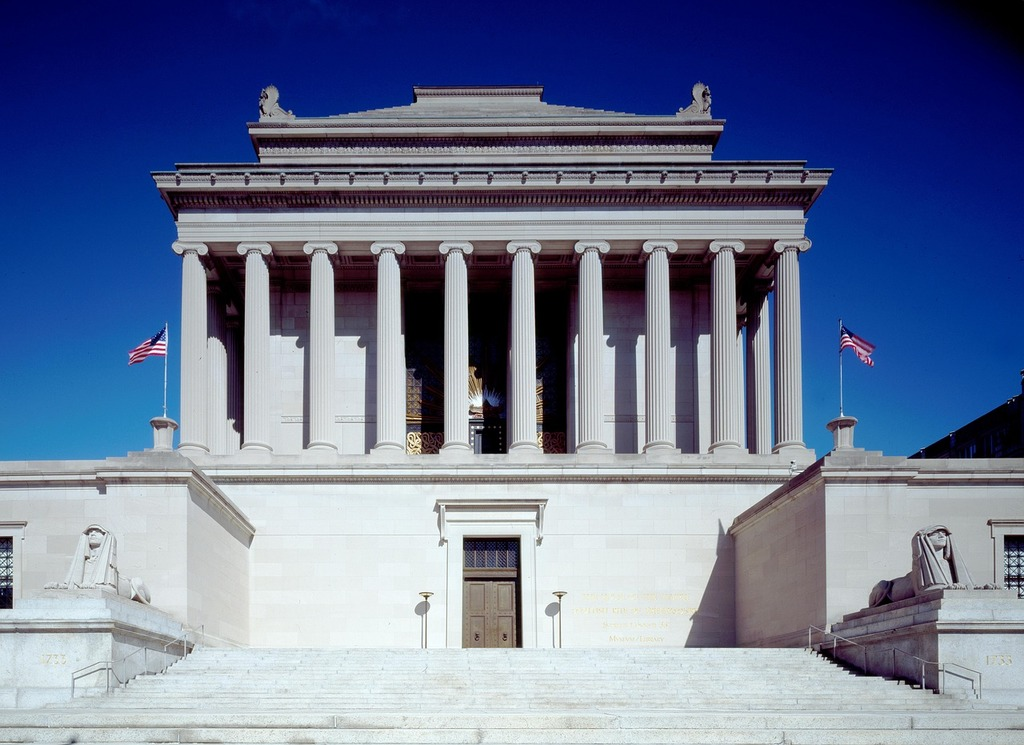 National archive washington usa, architecture buildings.