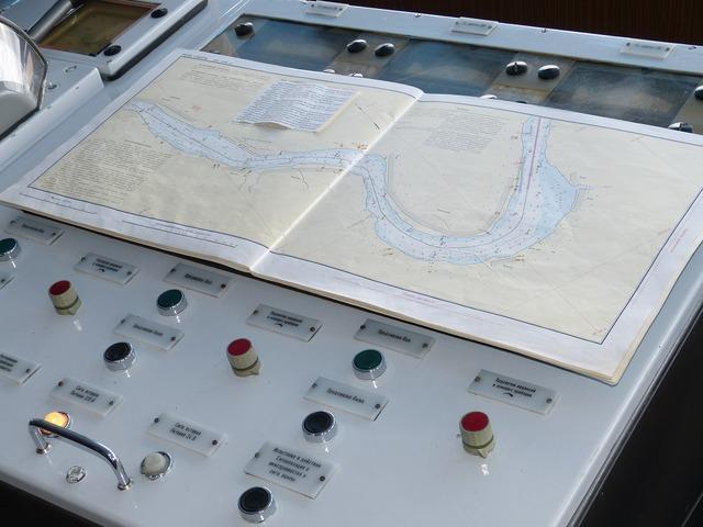 Navigation lake ladoga russia, science technology.