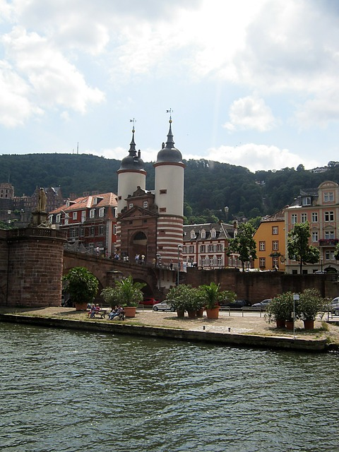Neckar heidelberg river, science technology.