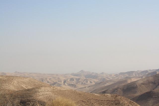 Negev mountains israel.