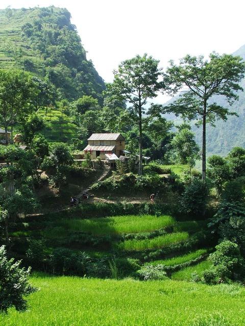 Nepal annapurna trekking.