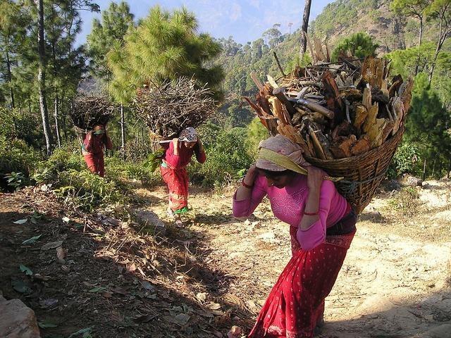 Nepal carrier baskets.