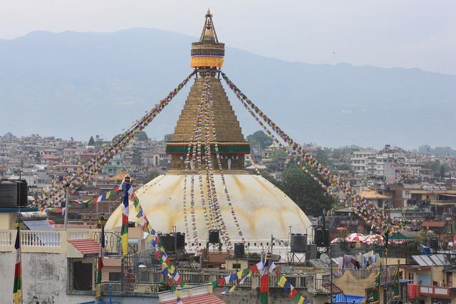 Nepal kathmandu boudhanath.