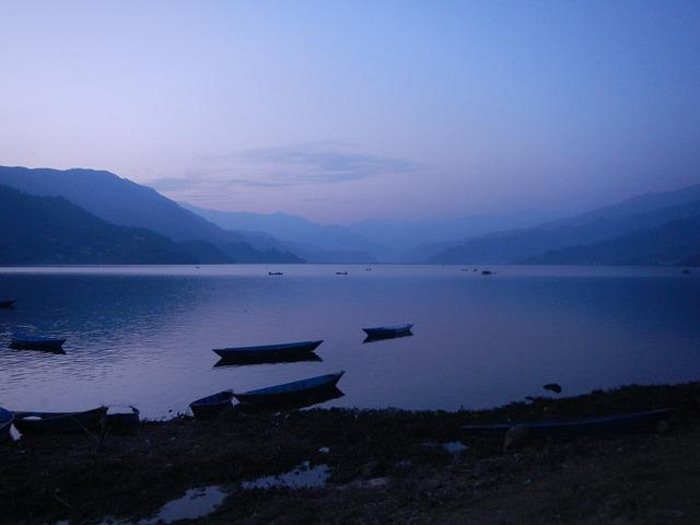 Nepal pokhara peace, nature landscapes.