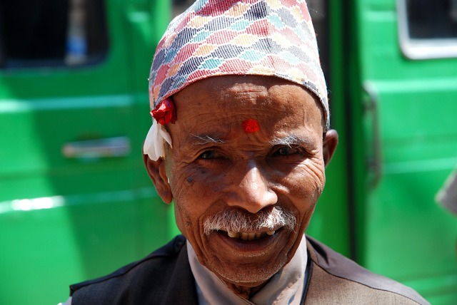 Nepal senior portrait.