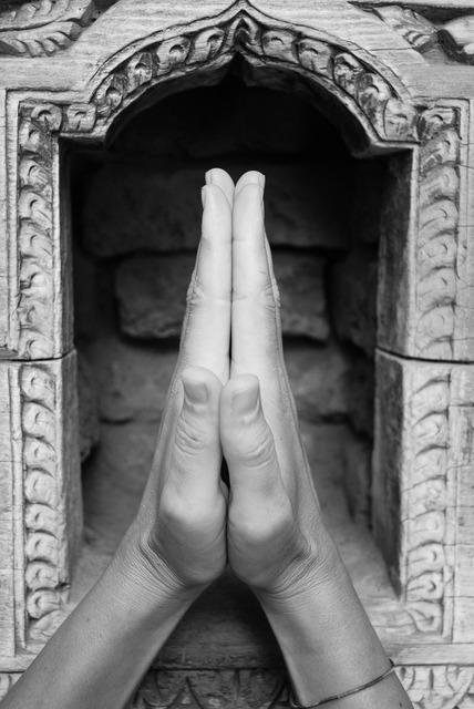 Nepal temple hands, religion.